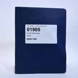 Color Formula Book