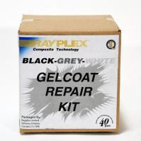 Black-Grey-White Gelcoat Repair Kit