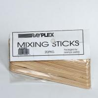 6 inch Mixing Sticks 20 Pack